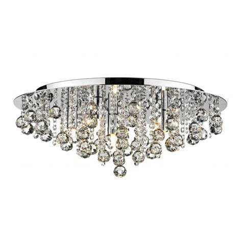 Crystal Flush Chandelier For Low Ceiling Buy Online Low Ceiling Lighting
