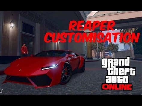 gta online : pegassi reaper customisation &a test drive