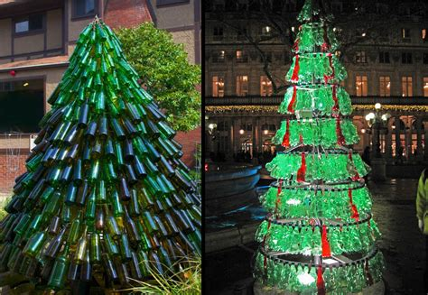 less is more have a green christmas design and the city