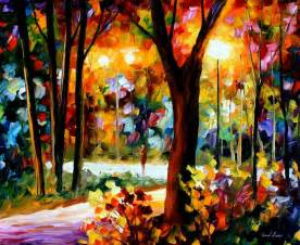 leonid afremov one of the most colorful painters ever
