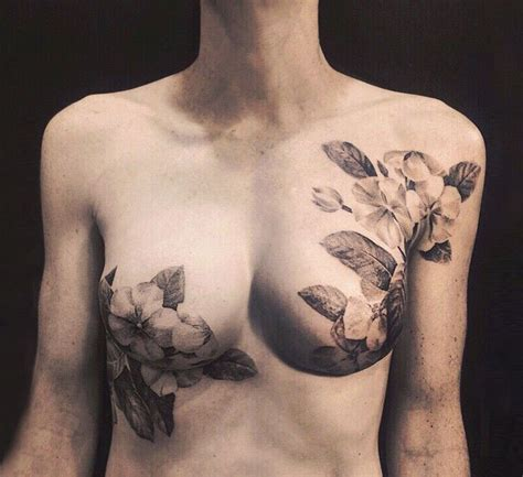 nipple tattoo for scars tattoo artists cover breast cancer survivors scars with