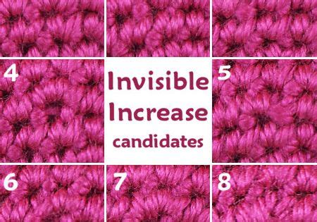 invisible knit increase i m a planetjune fan i stitchy innovations