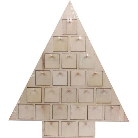 make your own wooden advent calendar wooden tree advent calendar hobbycraft