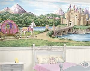 Castle Wall Mural Princess Castle Bliss Mural