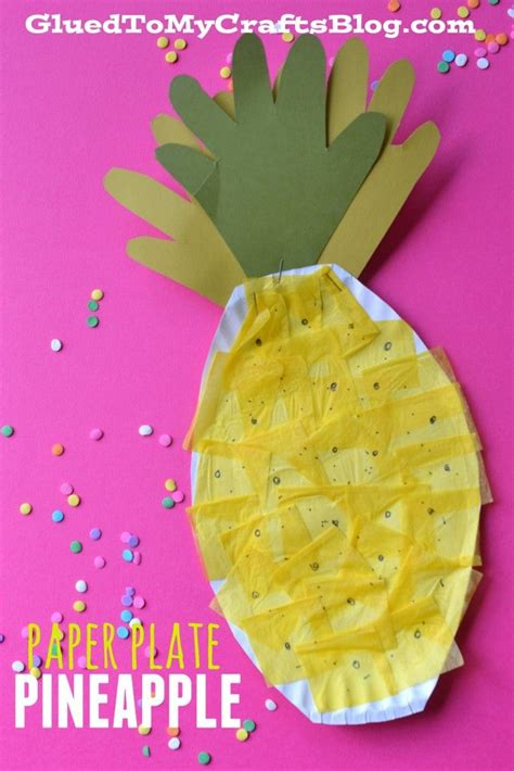 Summer Paper Crafts For - 25 best ideas about pineapple craft on
