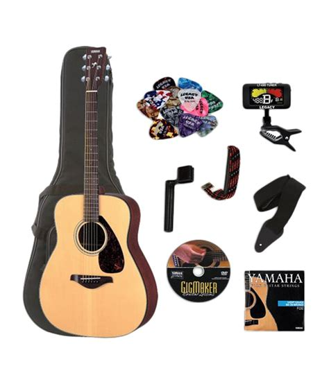 Harga Gitar Yamaha Fg 700 yamaha fg700s acoustic guitar bundle buy yamaha fg700s