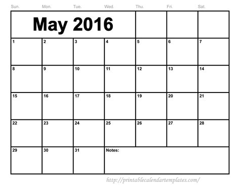 may 2016 editable templates printable calendar templates