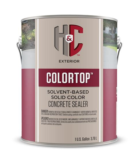 h c colortop water based stain h c 174 concrete