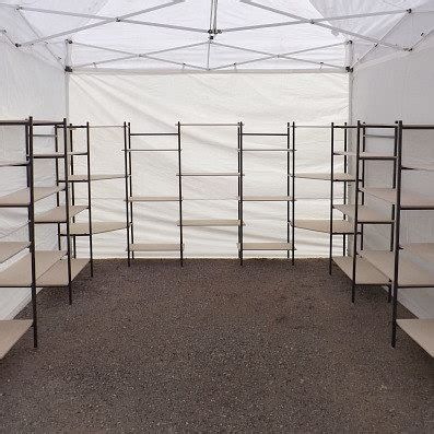 Show Tent Second Kandang Portable 10 x 10 canopy booth or indoor display booth craft