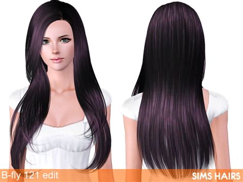 fly sims 121 af hairstyle retextured by sims hairs for sims 3 the fashion sims