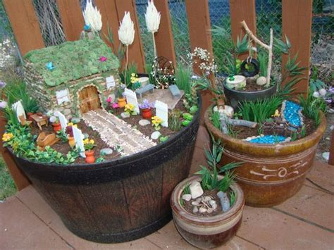 making your own house how to make a fairy garden goes through step by step