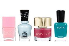 the best long lasting drugstore nail polish ive tried six pastel nail polish colors for spring butter london