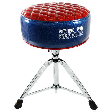 Pork Pie Drum Stool by Pork Pie Rod Top Drum Throne Pprtmf