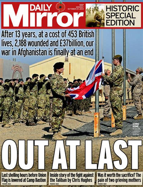 Daily Mirror Uk Front Page For 14 October 2017 newspaper thread and front pages monday 27 october 2014