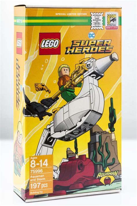 Exclusive Set look at lego s sdcc exclusive aquaman set