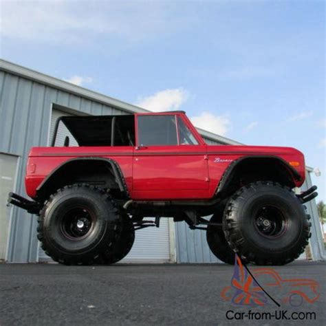 4wd road 689 351 1977 ford bronco ford bronco truck 351w 4x4