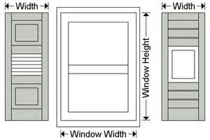 Curtain Panel Width Combo Exterior Shutters Outdoor Outside Window Shutters