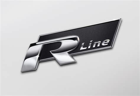 original volkswagen logo original vw r line emblem schriftzug logo
