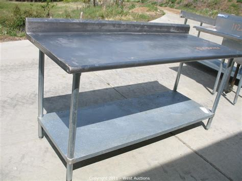 outdoor food prep table furniture chic stainless steel prep table for kitchen