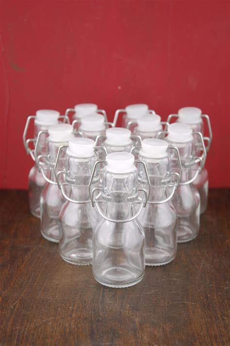 mini swing top bottles 12 4 quot glass swing top bottles