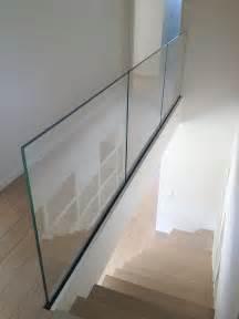 glass handrail system best 25 glass handrail ideas on