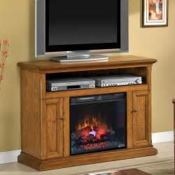 Cannes 23 quot antique oak media console electric fireplace cabinet mantel