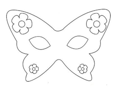 fiori da stare e ritagliare disegni da colorare carnevale maschere bambini