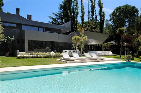 2 story house with pool two story house in madrid integrating cool sci fi elements