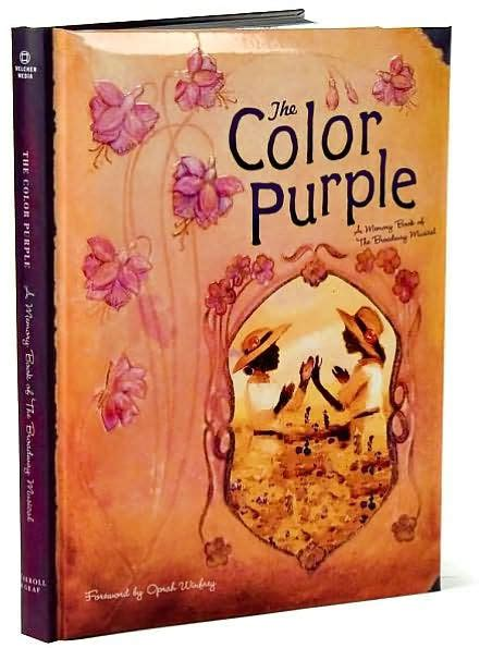 the color purple book barnes and noble the color purple a memory book by lise funderberg