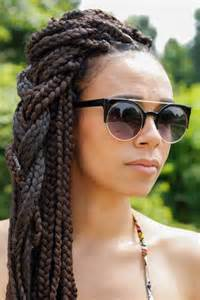 hair block braiding styles cute box braid hairstyles how to make them heart bows