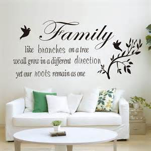 wall decal quotes for living room family tree vinyl bedroom living room wall quote stickers