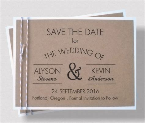 rustic save the date cards shabby chic save the date cards