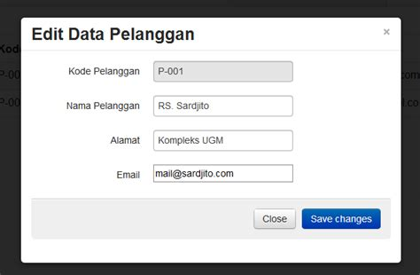 membuat form search html guru tutorial membuat form edit menggunakan modal twitter