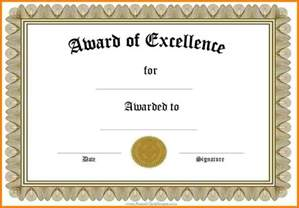 templates certificate 7 word award templates sle of invoice
