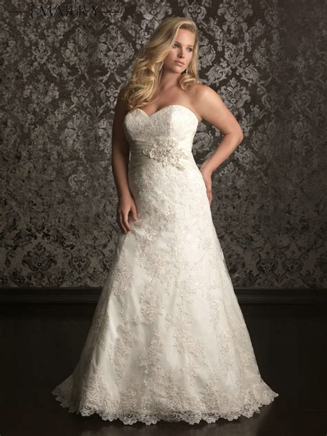 wedding hairstyle ideas for plus size sz310 romantic best selling ivory lace sweetheart organza
