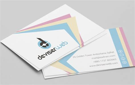 Photoshop Business Card Template Uk by 25 Free Photoshop Business Card Templates Creative Nerds