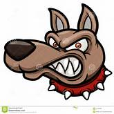 Angry Cartoon Dog Royalty Free Stock Images - Image: 31019259