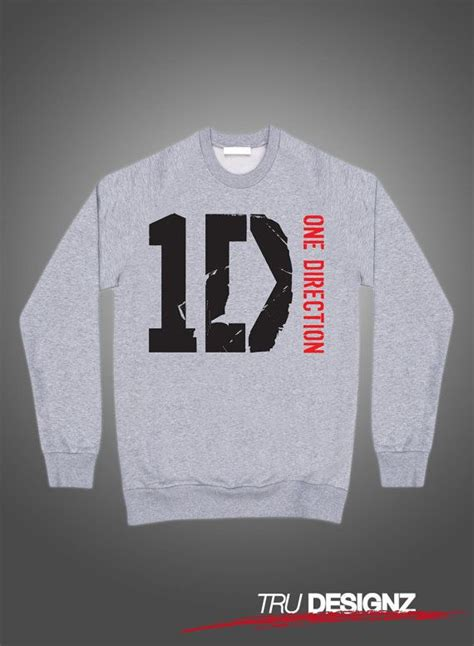 Hoodie One Logo 2 K21 one direction 1d logo sweatshirt tshirt hoody by