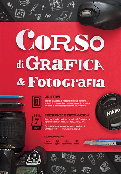 photography course layout graphic design photography course poster on behance