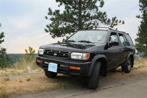1997 nissan pathfinder manual buy used 1997 nissan pathfinder le manual 4wd black in