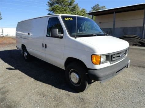 how does cars work 2004 ford e series engine control purchase used 2004 ford e350 cargo van one owner in marietta georgia united states