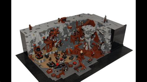 lego lord of the rings orc forges moc