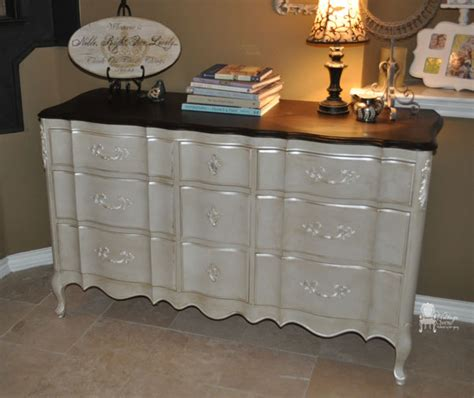 painted bedroom dressers painted french provincial triple dresser