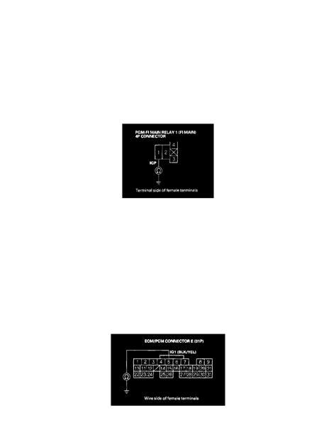 malfunction indicator l honda honda workshop manuals gt accord v6 3 0l 2003