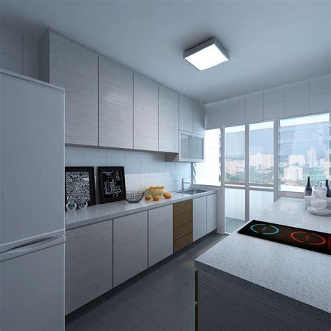 10 HDB Kitchen Design Ideas   Interior Design Singapore
