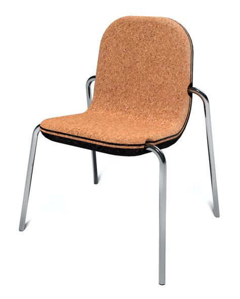 Cork Chair by Koo Koo For Cork Yanko Design