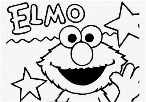 elmo coloring pages learn to coloring