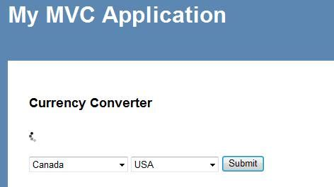 currency converter jquery displaying jquery progress using asp net mvc with ajax