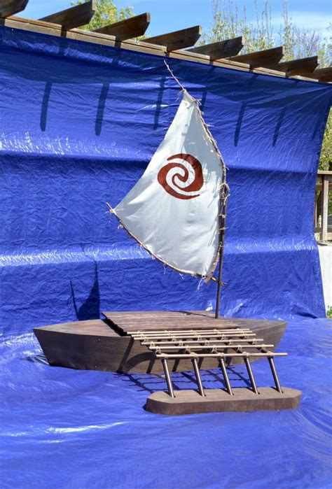 moana boat pallet moana s boat blissful charm pinterest boating moana
