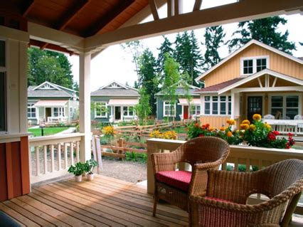 Cottage Community by Ross Chapin And Tiny House Communities